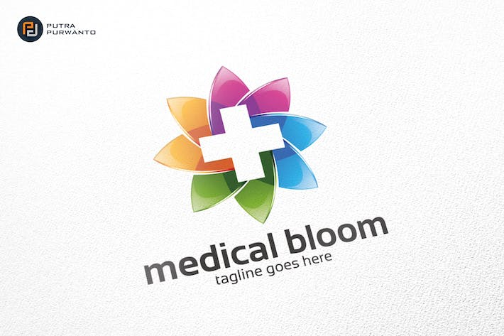 Thumbnail for Medical Bloom / Cross / Logo Template