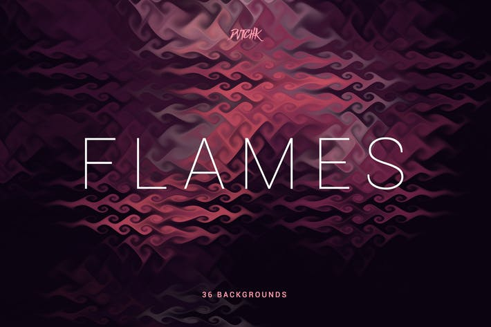 Cover Image For Flames | Abstract Curly Backgrounds