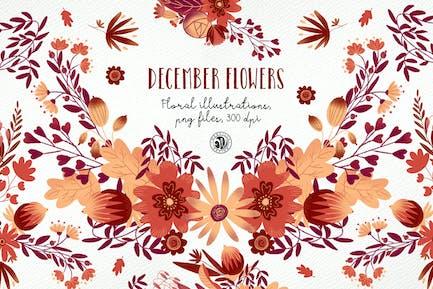 Flores de diciembre ver.2018