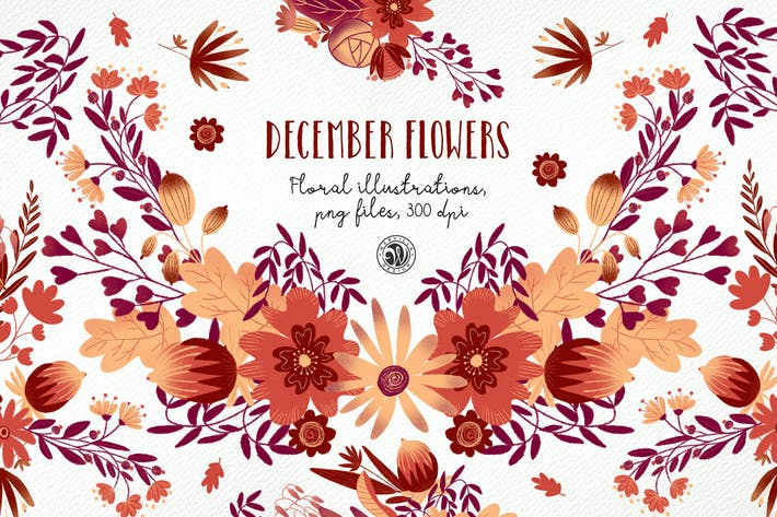Thumbnail for December Flowers ver.2018