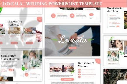 Loveala - Wedding Powerpoint Template