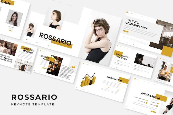 Thumbnail for Rossario - Keynote Vorlage