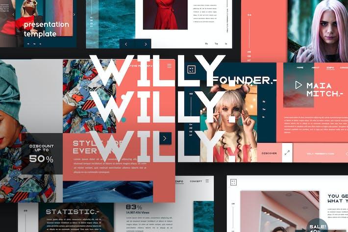 Thumbnail for Willy Ui presentation Google Slide