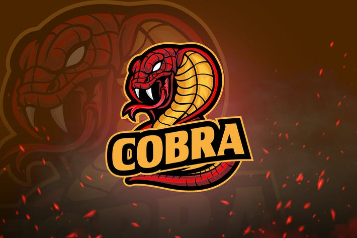 Thumbnail for Animal Mascot & Esport Logo V3 - Angry Cobra