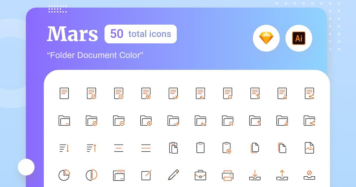Download Mars - Folder Document Color by sudutlancip