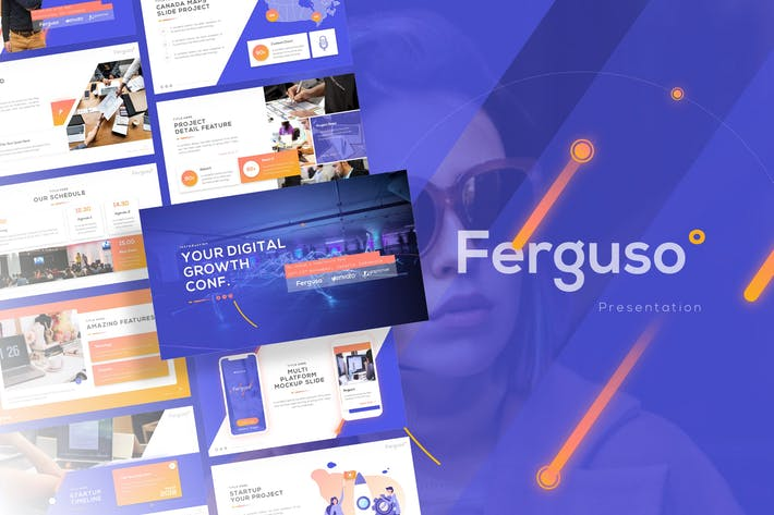 Thumbnail for Ferguso - Creative PowerPoint Template