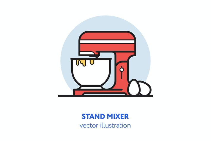 Thumbnail for Mixer-Vektor Illustration