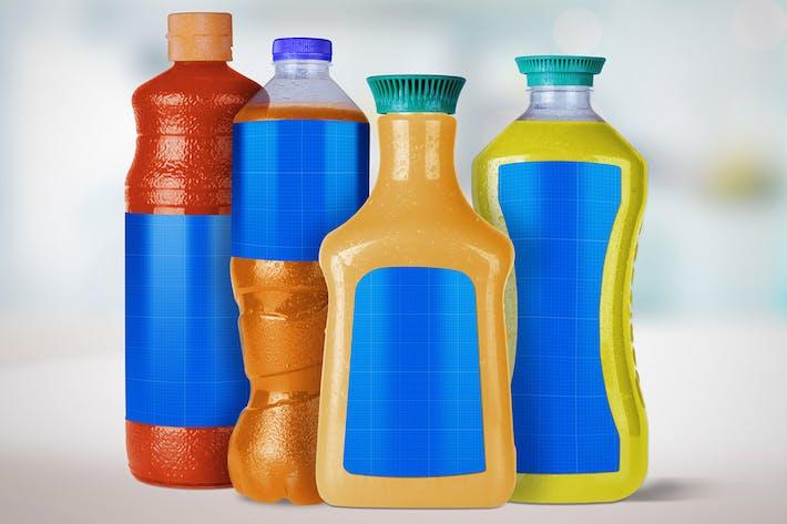 Thumbnail for 4 Juice Bottles