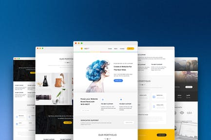 Next - Responsive Email and Newsletter Template