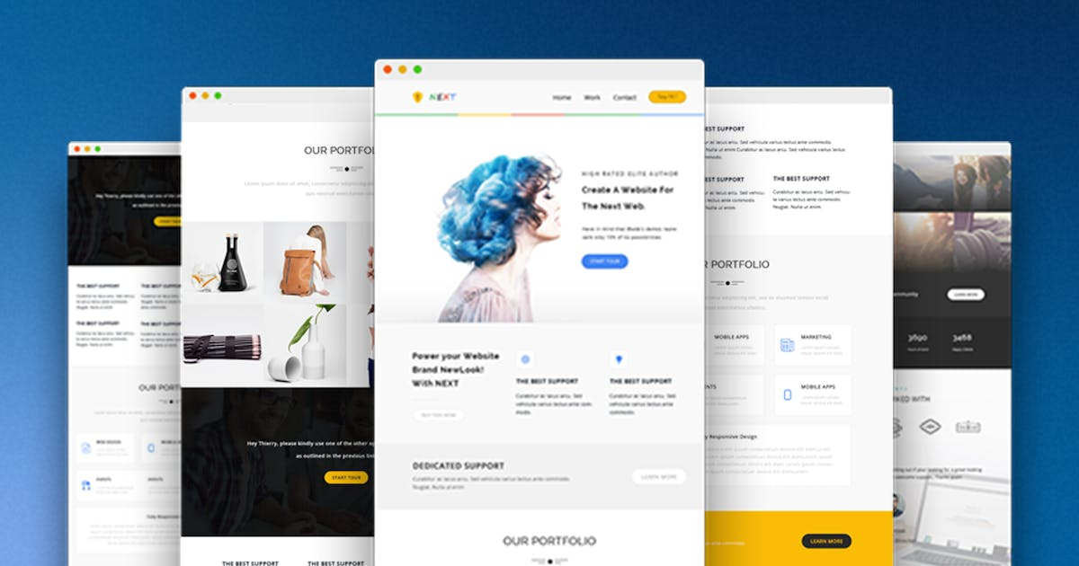 Download Next - Responsive Email and Newsletter Template by CastelLab