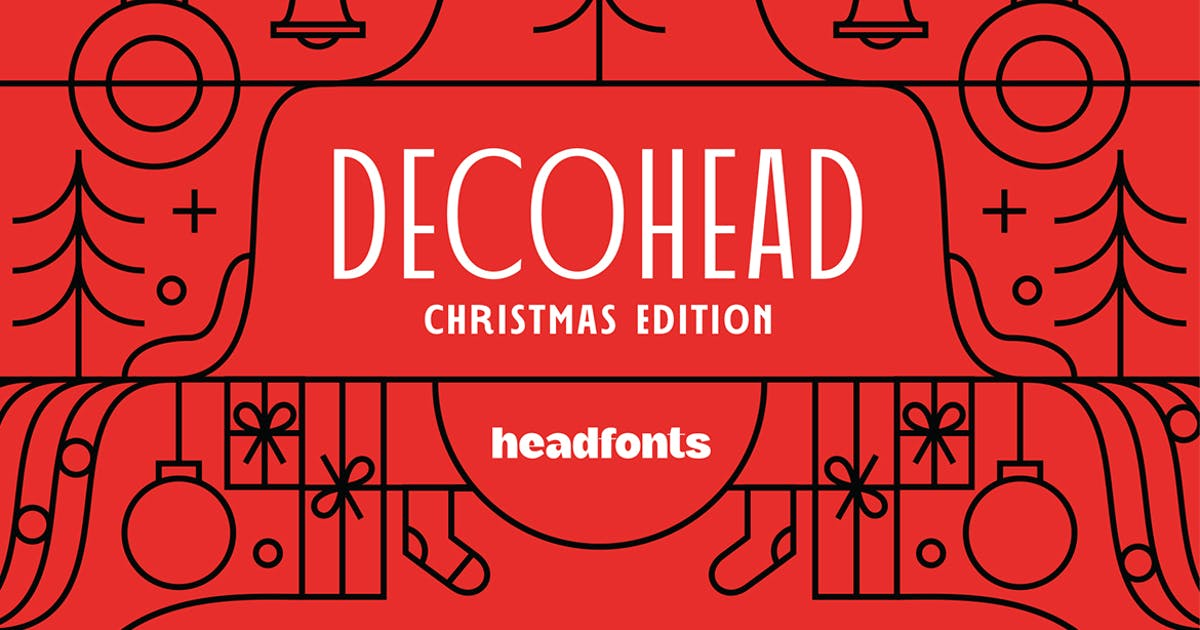 Download Decohead Typeface  Art Deco Font by Mihis_Design