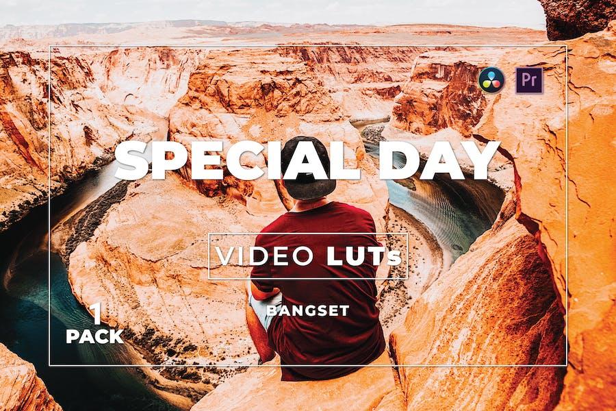 Специальный набор для бангсета 1 Видео LUTs