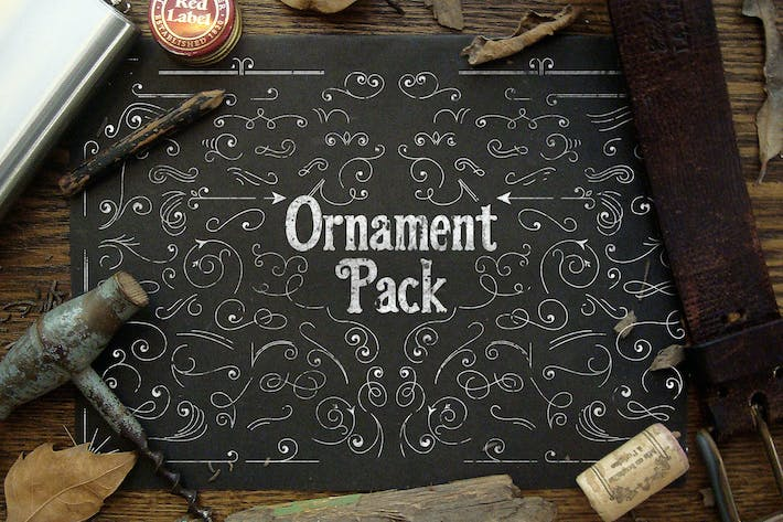 Thumbnail for Vector Ornament Pack
