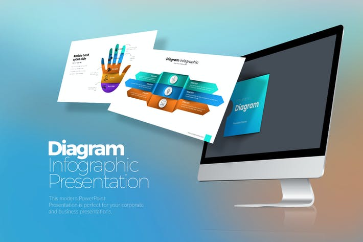 Thumbnail for Diagram Infographic PowerPoint