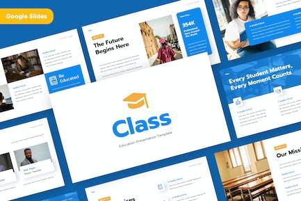 CLASS - Education Google Slides Template