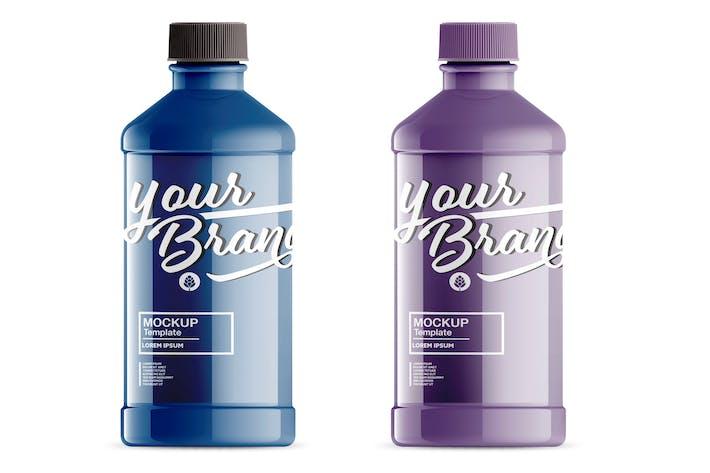Thumbnail for Cleaner Bottle Mockup