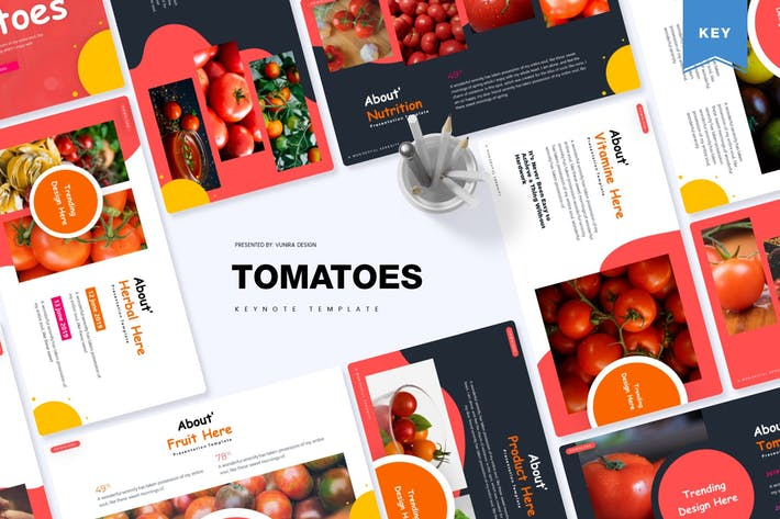 Thumbnail for Tomatoes | Keynote Template