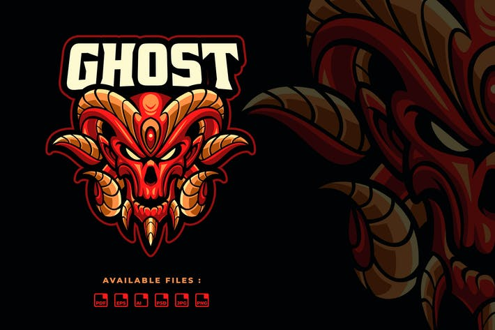 Thumbnail for Ghost Sport and Esport Logo