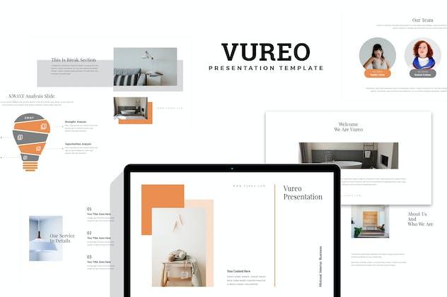 Vureo : Modern Interior Design Powerpoint