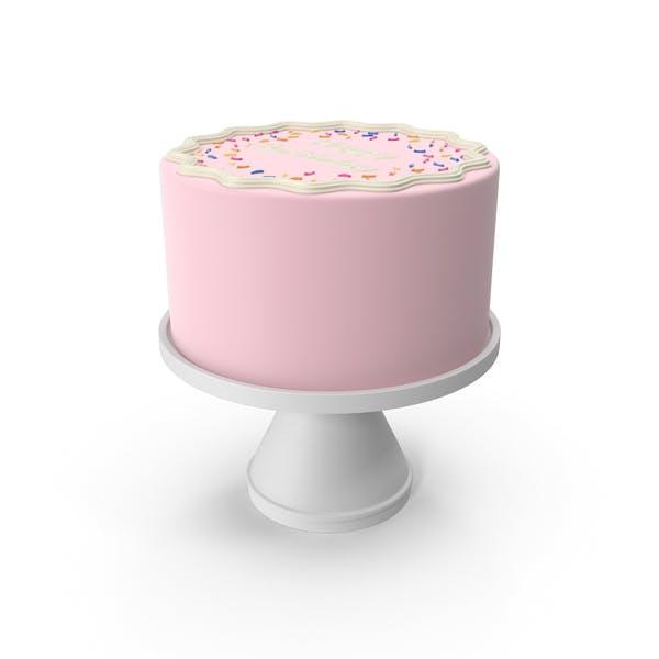 Thumbnail for Pink Birthday Cake