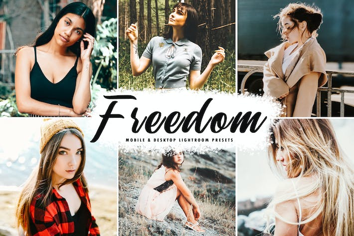 Thumbnail for Freedom Mobile & Desktop Lightroom Presets