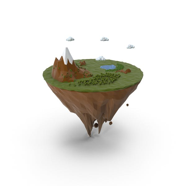 Thumbnail for Island  lowpoly
