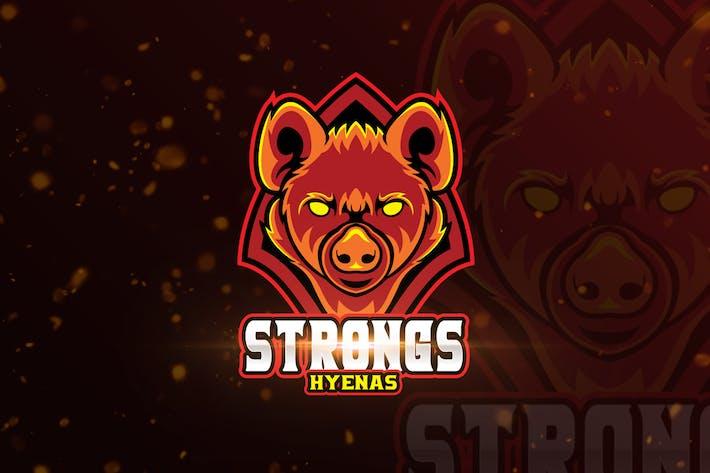 Thumbnail for Hyenbas Squad Mascot & eSports Gaming Logo