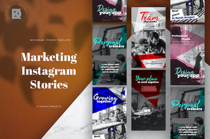 Thumbnail for Instagram Marketing Banners Pack