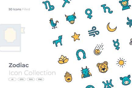 Zodiac Filled Icon