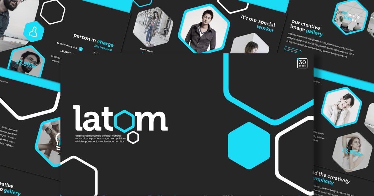 Download Latom - Powerpoint Template by inspirasign