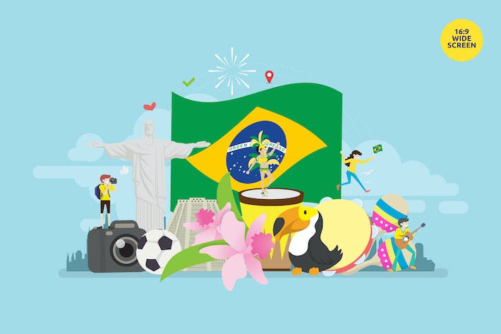 Thumbnail for Brazil Independence Day Vector Illustration