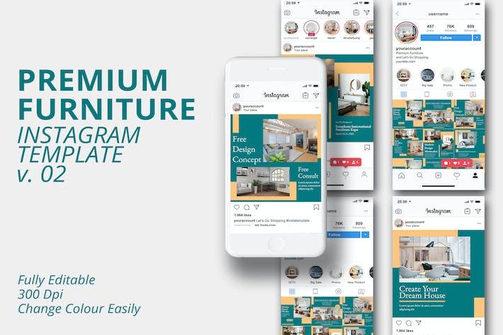 MS - Premium Furniture Instagram Template Vol.2