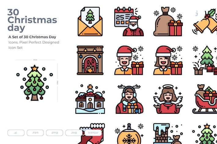 Thumbnail for 30 Christmas Icons