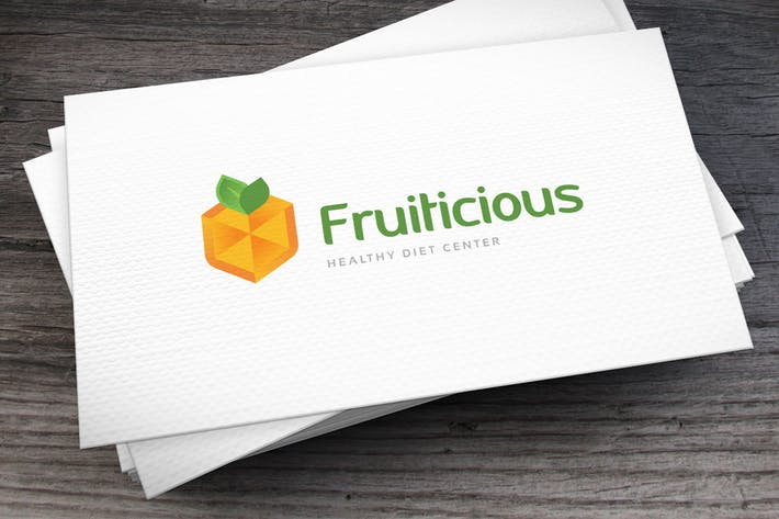 Thumbnail for Fruiticious Logo Template