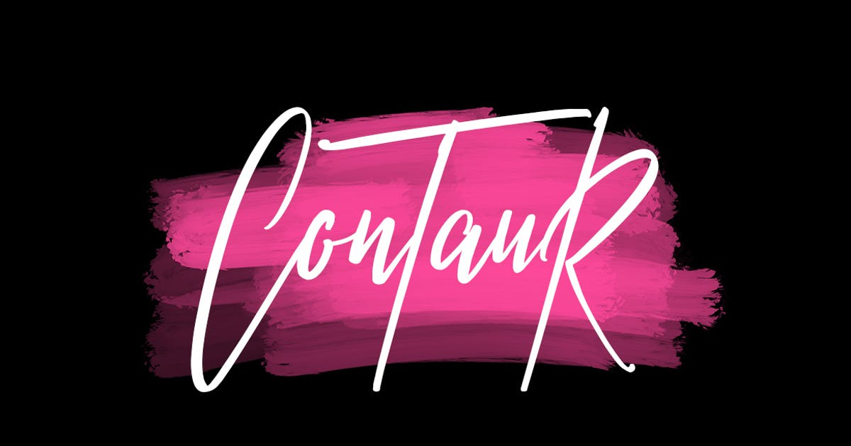 Download Contaur Typeface by maulanacreative