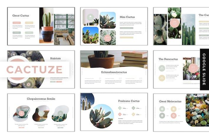 Thumbnail for Cactuze - Google Slides Template