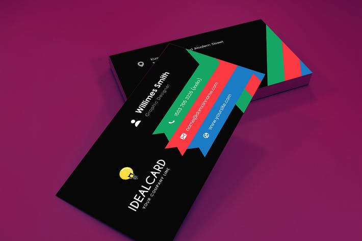 Thumbnail for Ideal - Business Card Template