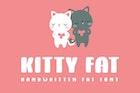 Kitty Fat - Handwritten Font