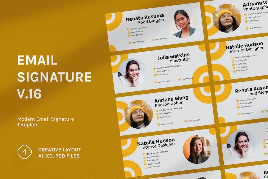 Email Signature v.16