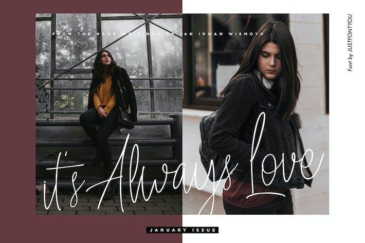 Thumbnail for Toujours aimer