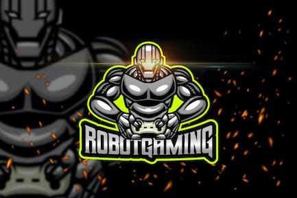 Robot Gaming - Esport & Mascot Logo Template
