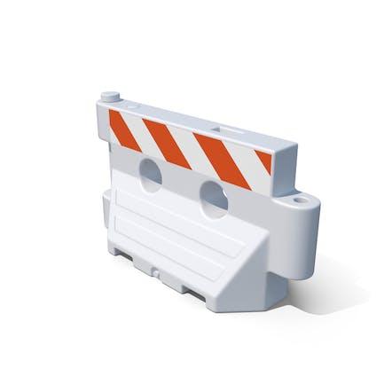 Plastic barrier New