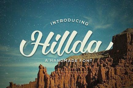 Hillda Script