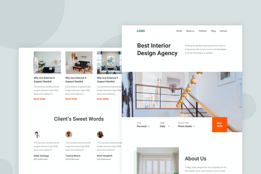 Interior Design - Email Newsletter