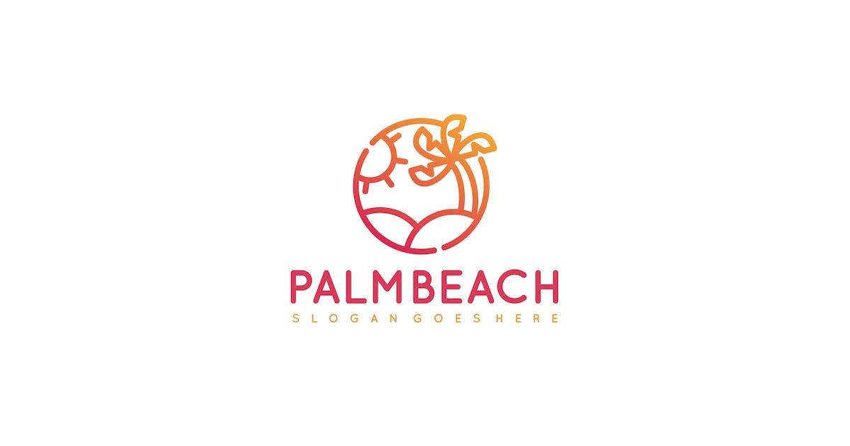 Download Palm Beach Logo by 3ab2ou