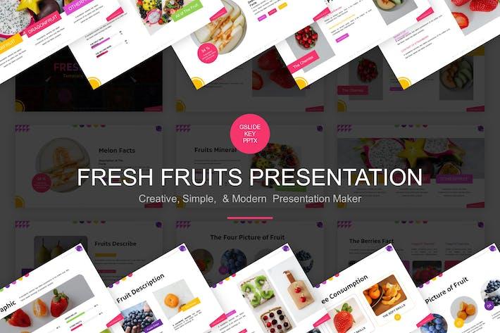 Thumbnail for Fresh Fruits Presentation Template