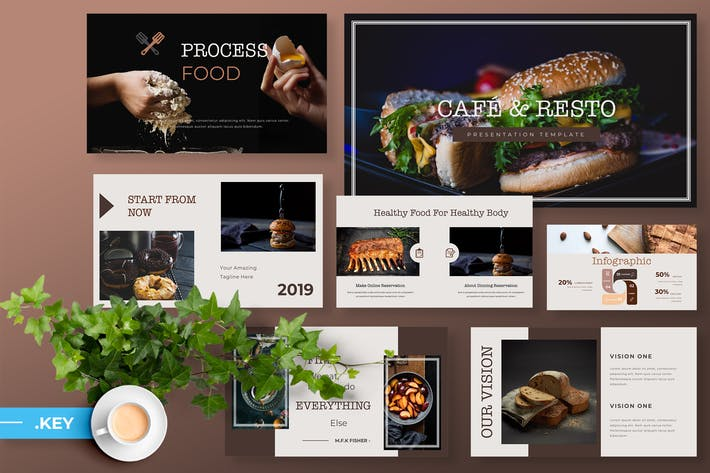 Cafe & Resto - Food Powerpoint Presentation