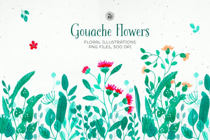 Thumbnail for Gouache Flowers