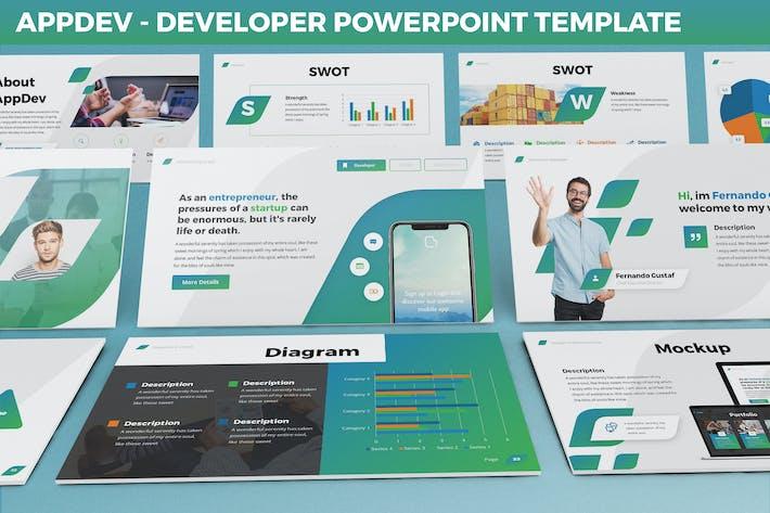 AppDev - Developer Powerpoint Template