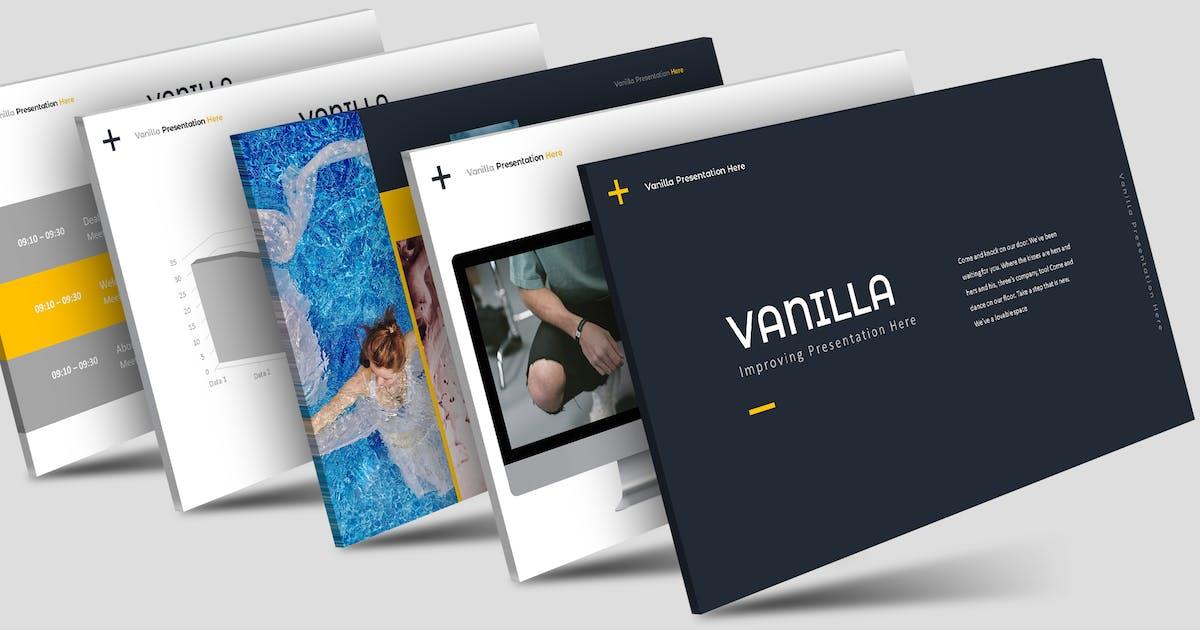 Download Vanilla - Keynote Template by aqrstudio